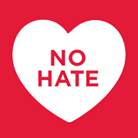 Logo: No hate speech