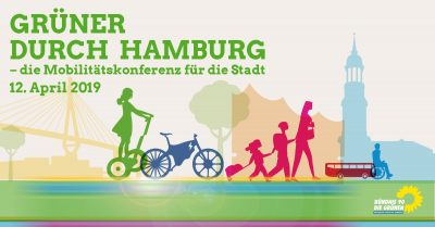 Grüner durch Hamburg – die Mobilitätskonferenz für die Stadt @ Goldbekhaus
