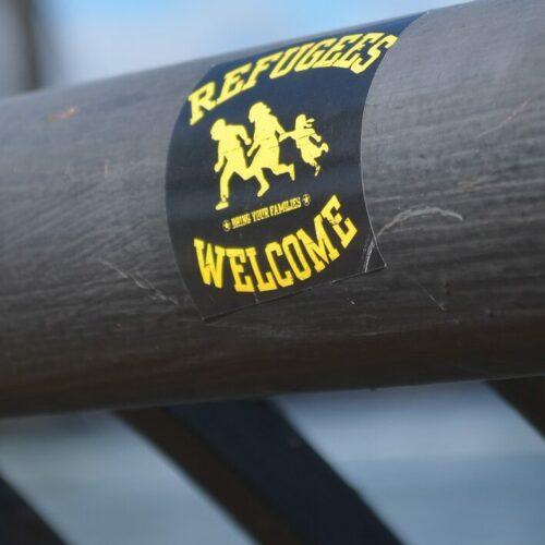 Sticker: Refugees Welcome